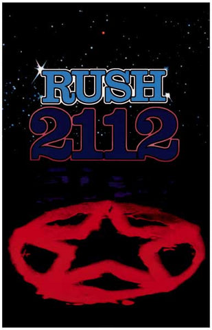 Rush 2112 Album Cover Poster