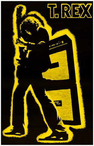 T. Rex Electric Warrior Poster