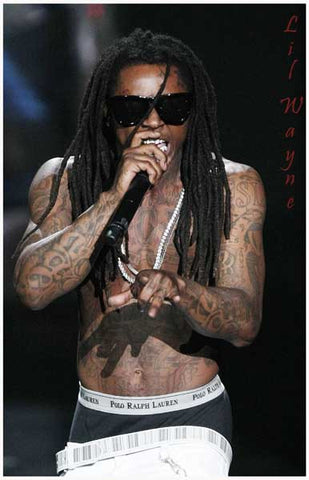 Lil Wayne Polo Briefs Doin' It Live 11x17 Poster