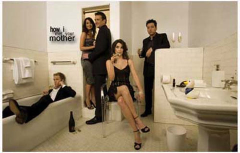 How I Met Your Mother TV Show Poster