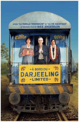Darjeeling Limited Anderson French Text 11x17 Poster