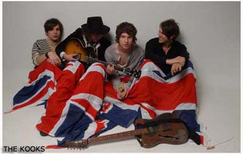The Kooks British Flag Luke Pritchard 11x17 Poster