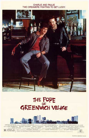 The Pope of Greenwich Village Rourke 11x17 Poster