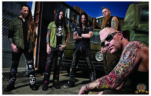 Five Finger Death Punch 5FDP Band Poster