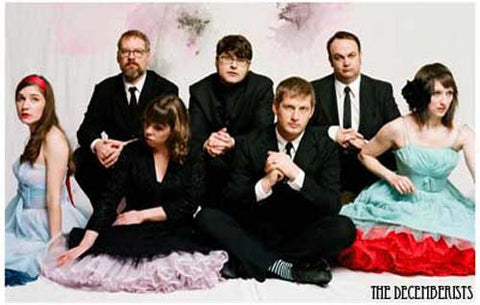 The Decemberists Band Poster