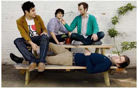 Vampire Weekend Group Picnic Portrait 11x17 Poster