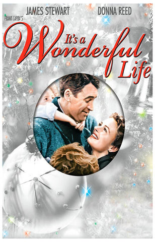 It's A Wonderful Life Christmas Movie Poster