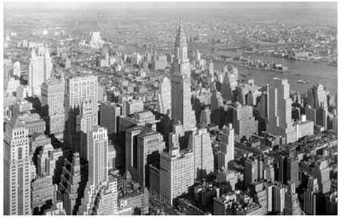 New York City c1932 Chrysler Building 11x17 Poster