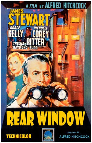 Rear Window Alfred Hitchcock Movie Poster
