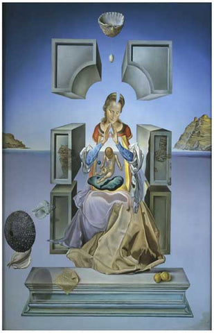 Salvador Dali Madonna of Port Lligat Poster