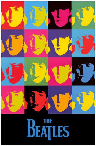 The Beatles Band Poster