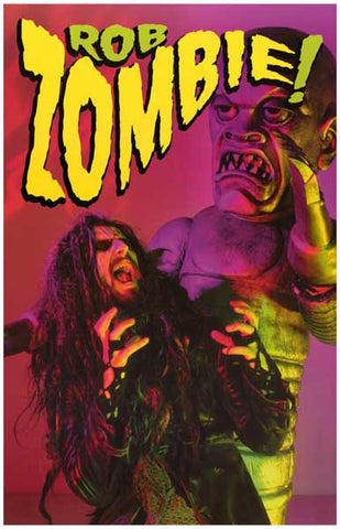 Rob Zombie White Zombie Monster Man 11x17 Poster