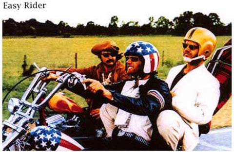 Easy Rider Movie Cast Poster