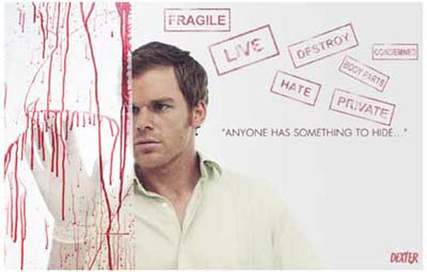 Dexter Something to Hide TV Show Poster 11x17