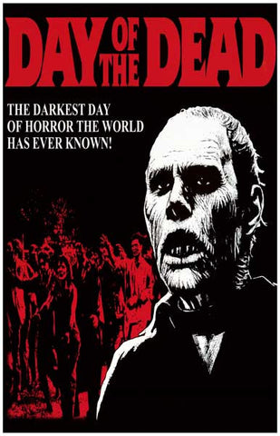 Day of the Dead Zombie George Romero 11x17 Poster