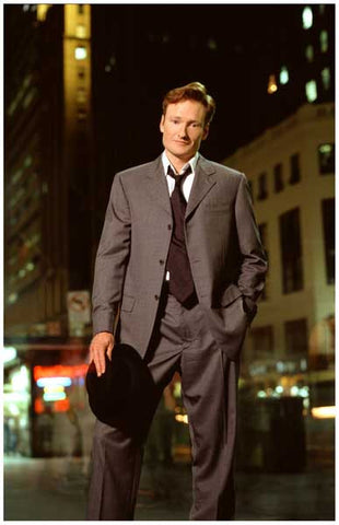 Conan O'Brien Mr Late Night Portrait 11x17 Poster
