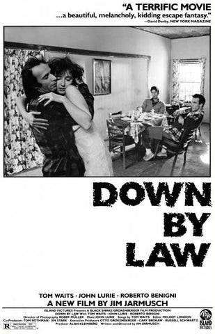 Down By Law Jim Jarmusch Movie Poster