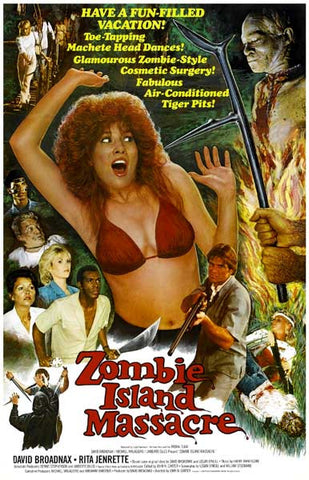 Zombie Island Massacre Troma Movie Poster