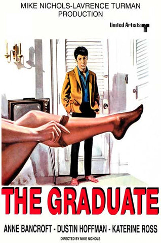 The Graduate Promo Art Dustin Hoffman 12x18 Poster