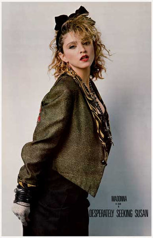 Madonna Desperately Seeking Susan Poster