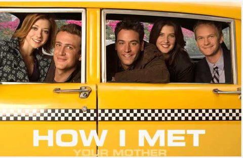 How I Met Your Mother Cast Taxi Cab 11x17 Poster