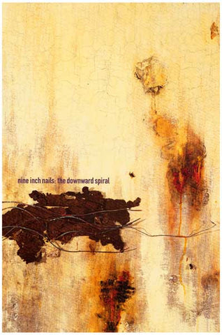 Nine Inch Nails Downward Spriral Reznor 12x18 Poster