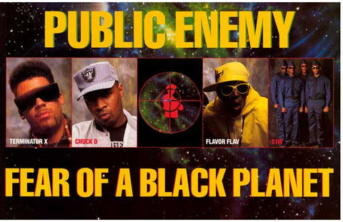 Public Enemy Fear of A Black Planet Poster