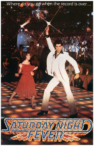 Saturday Night Fever John Travolta Disco 11x17 Poster