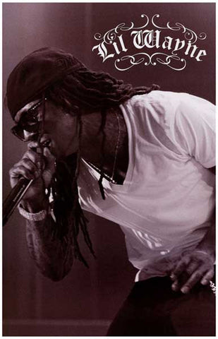 Li'l Wayne The Carter On the Mic 11x17 Poster