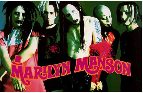 Marilyn Manson Band Poster
