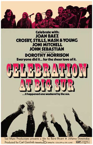 Celebration at Big Sur Movie Poster