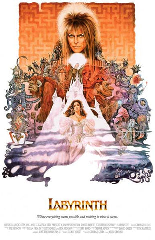 Labyrinth David Bowie Movie Poster