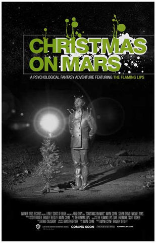 Flaming Lips Christmas on Mars Wayne Coyne 11x17 Poster