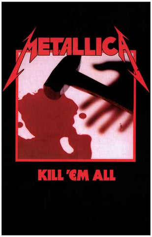 Metallica Kill 'Em All Poster