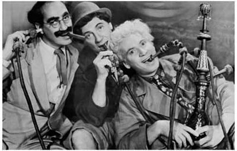 Marx Brothers Hookah Hijinks Groucho 11x17 Poster