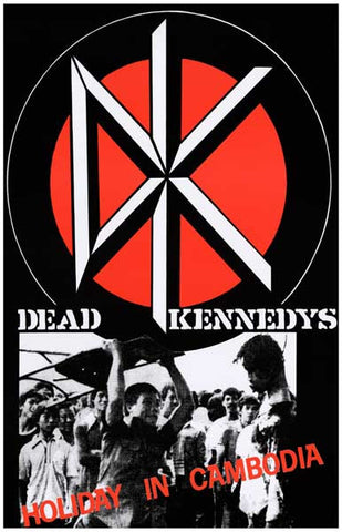 Dead Kennedys Band Poster