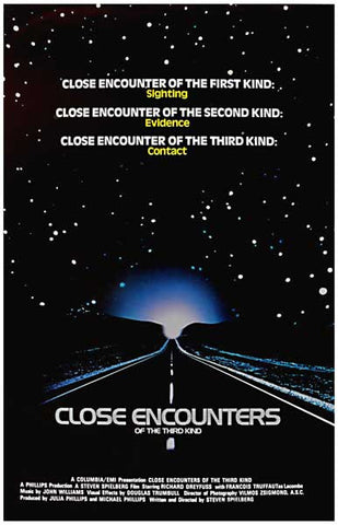 Close Encounters of the Third Kind UFO 11x17 Poster