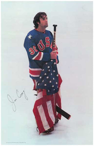 Jim Craig US Olympic Hockey Poster