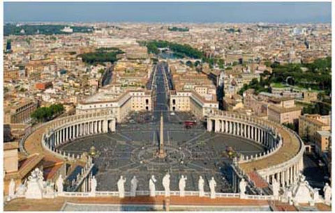 Rome Vatican City St Peter's Square Poster