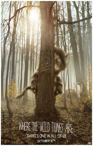 Where the Wild Things Are Carol Hiding 11x17 Poster
