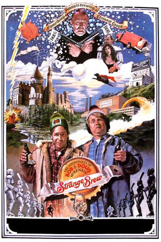 Strange Brew Movie Collage McKenzie Bros 11x17 Poster