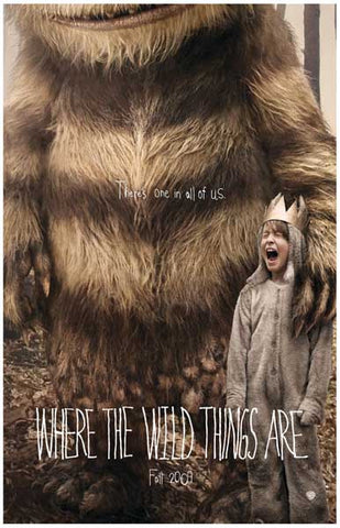 Where the Wild Things Are Max & Carol 11x17 Poster