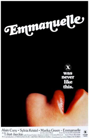 Emmanuelle X-Rated Movie Poster