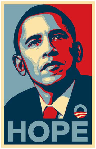 Barack Obama HOPE Presidential Campaign Poster