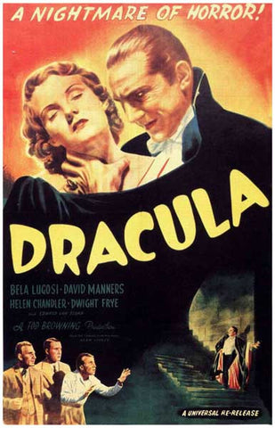 Dracula Bela Lugosi Movie Poster