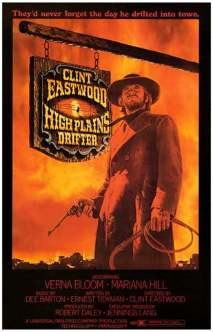 High Plains Drifter Movie Poster