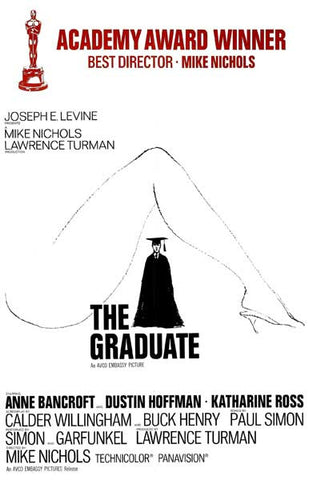 The Graduate Academy Award Mike Nichols 11x17 Poster