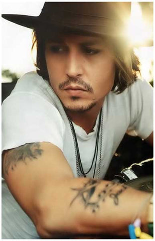 Johnny Depp Portrait Poster
