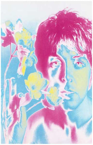 Beatles Psychedelic Paul McCartney Poster