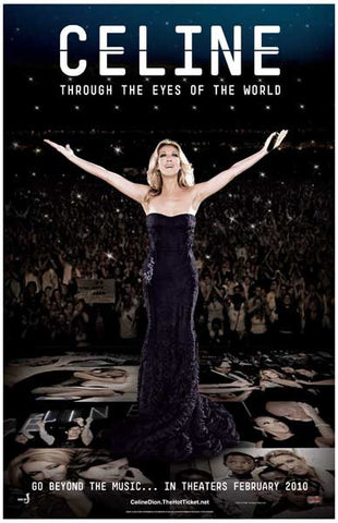 Celine Dion Through the Eyes of the World 11x17 Poster
